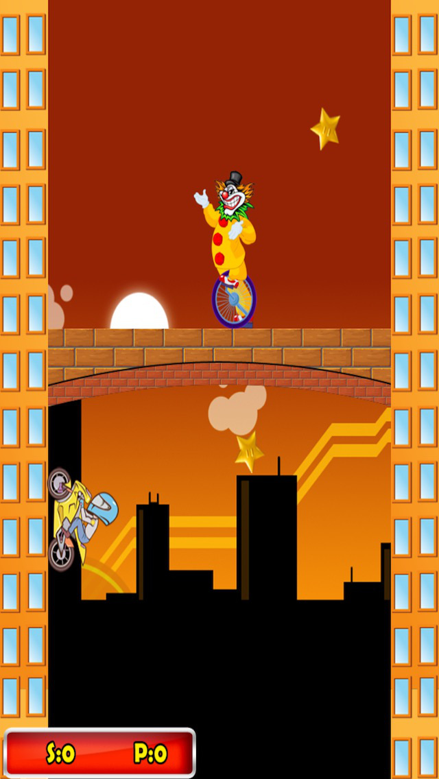 ` Impossible Jet Bike Ninja Run Riders Motorcycle Jump Free Game screenshot 2