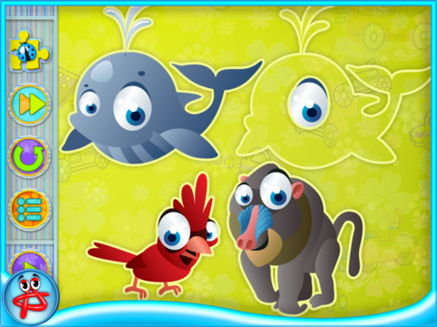 Touch and Patch: Shapes Puzzle for Kids screenshot 7