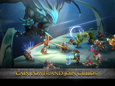 Divine Might - 3D Dungeon Crawler MMORPG screenshot 8