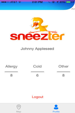 Sneezter - náhled