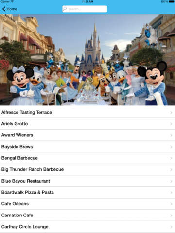 Restaurant Guide for Disneyland screenshot 7
