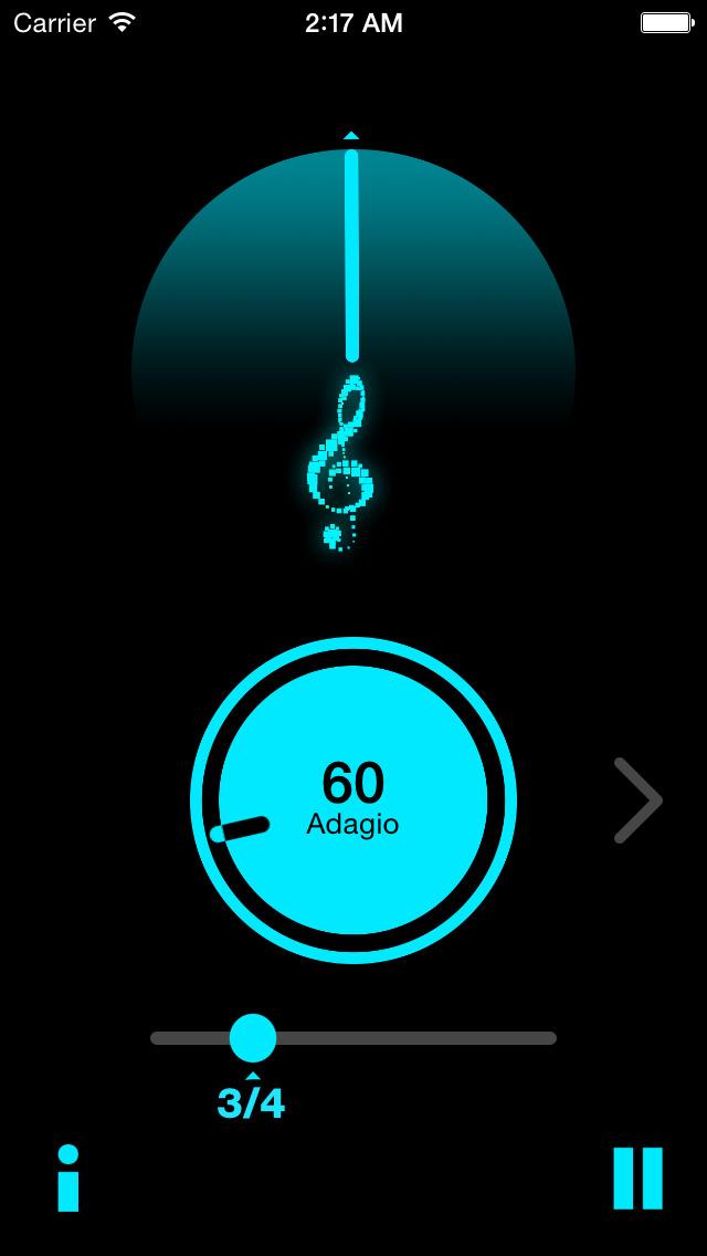 JoyTunes Metronome screenshot 1