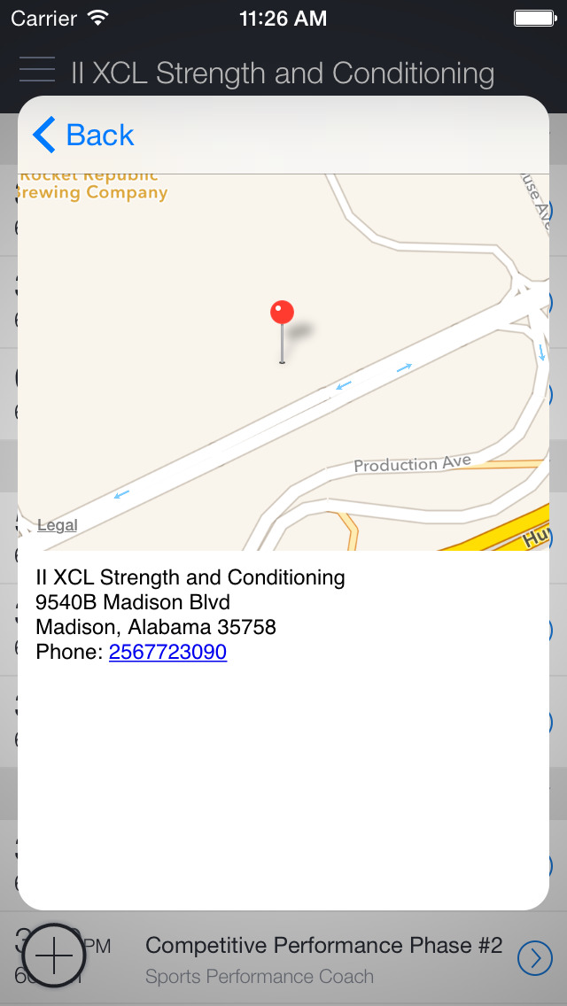 II XCL Strength & Conditioning screenshot 2
