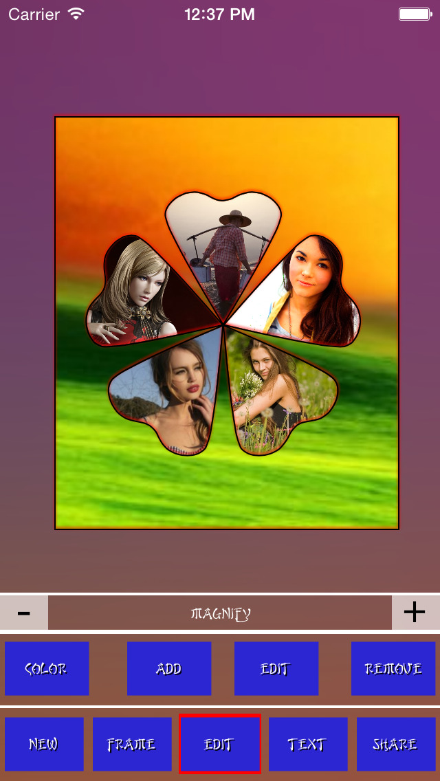 Collage Frames++ screenshot 1