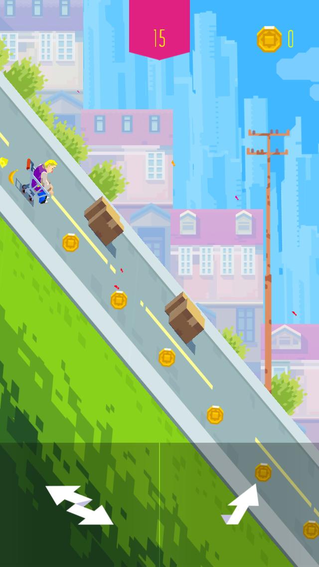 Downhill Crash screenshot 1