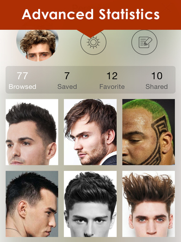 Men's HairStyles Catalog: Long & Short Beard Style screenshot 9