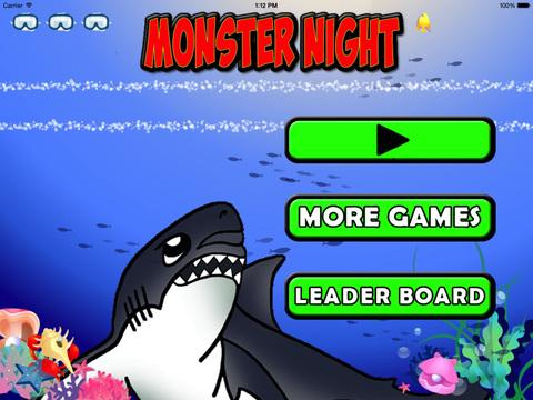 Monster Nigth : Shark  Sea screenshot 6