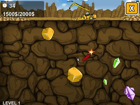 Gold Miner - A Mining Adventure screenshot 2