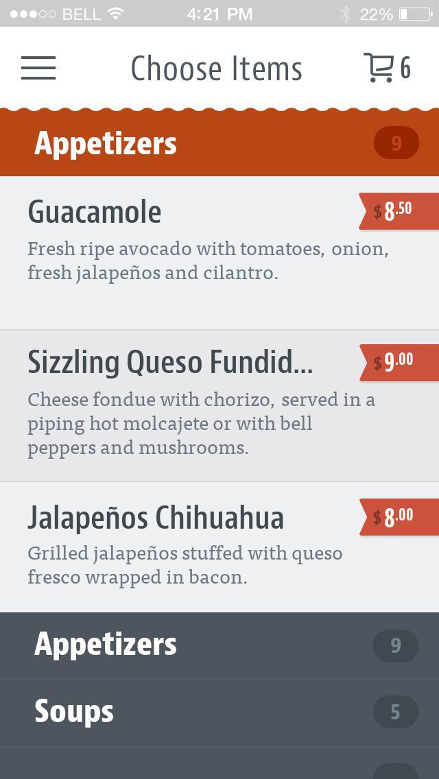 La Frontera Mexican Grill screenshot 3