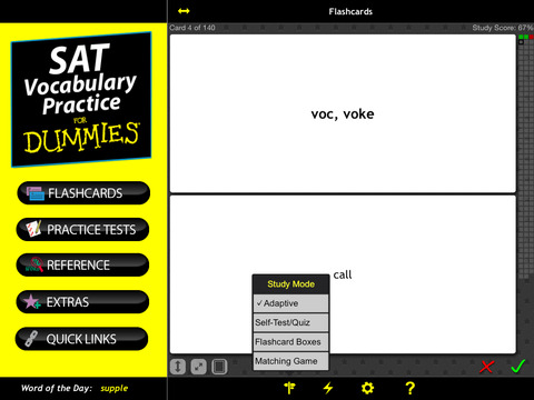 SAT Vocab Practice For Dummies screenshot 10