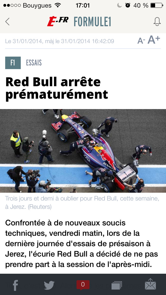L'EQUIPE, sports en direct screenshot 2