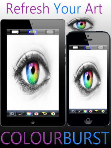 Color Burst - Mix Color Images With Black & White screenshot 6