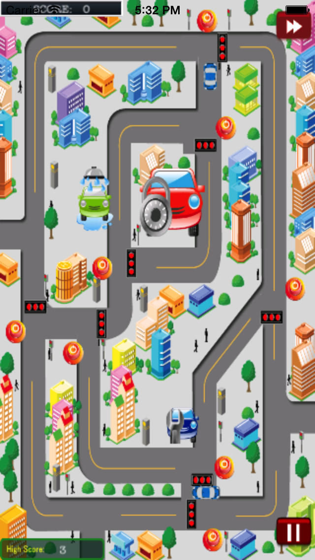City Traffic Cars HD PRO screenshot 1