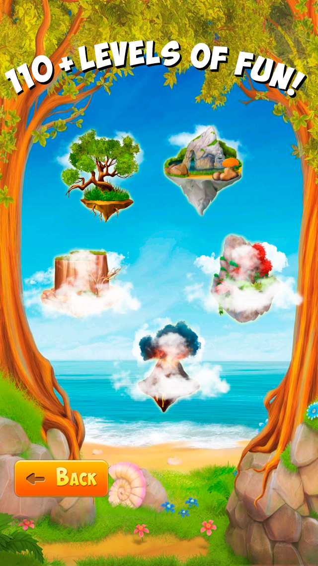 Bubble Birds 4: Match 3 Puzzle Shooter Game screenshot 1
