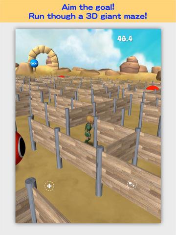3D Maze Robo screenshot 6