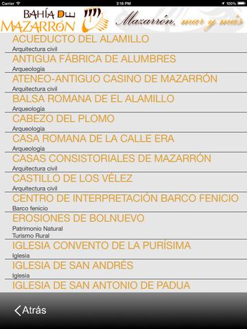 Guía oficial de Mazarrón screenshot 6