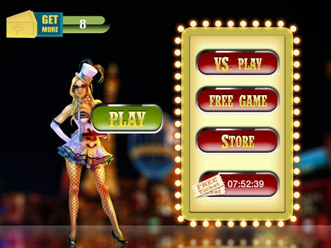 Las Vegas Bingo Mania - win casino gambling tickets screenshot 4