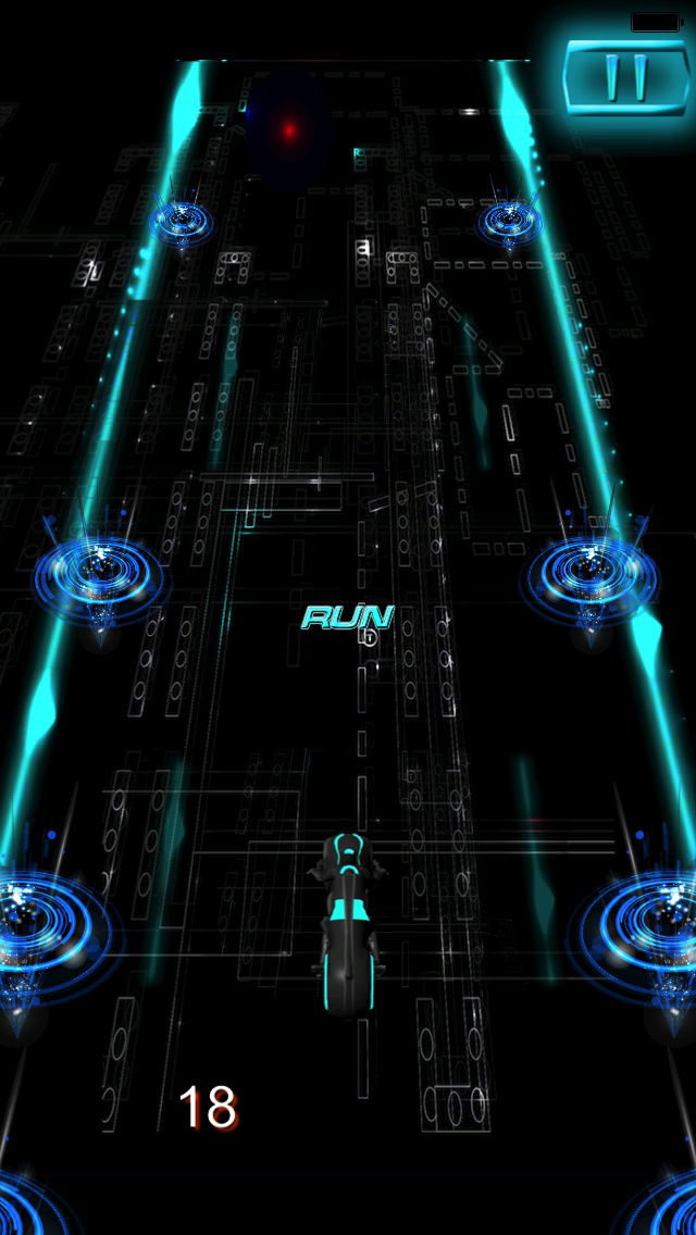 Turbo Mania : Persecution Racing Neon 3D Bike screenshot 3