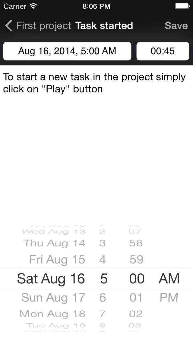 Task Tracker Lite screenshot 5
