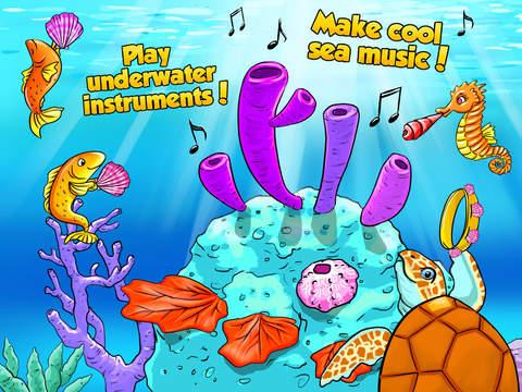 Mermaid Ava and Friends - Ocean Princess Hair Care, Make Up Salon, Dress Up and Underwater Adventures screenshot 10