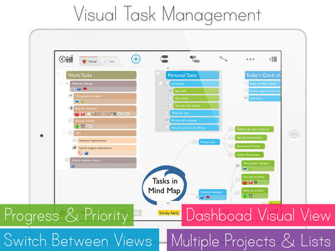 MagicalPad: Notes, Mind Maps, Outlines and Tasks - All in one screenshot 4