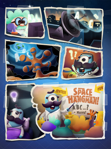 Space Hangman: Aliens Go Crazy screenshot 7