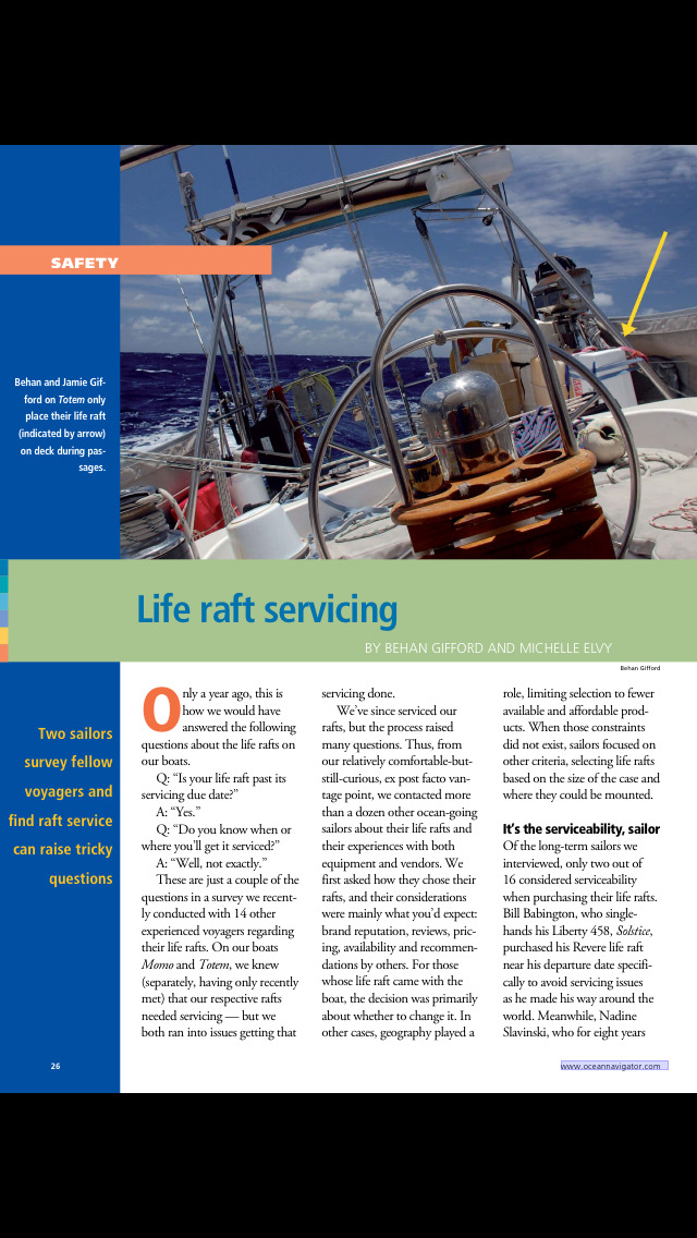 Ocean Navigator Magazine screenshot 2