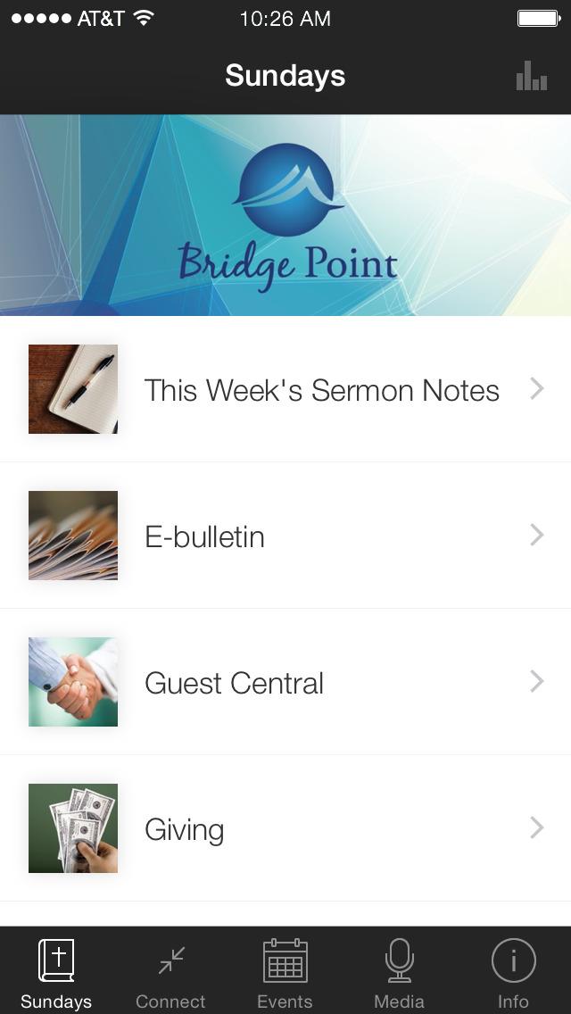 Bridge Point Fellowship screenshot 1