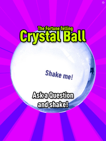 *Magic Crystal Ball Free* screenshot 2