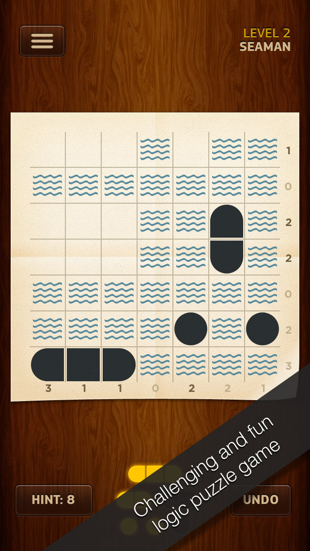 Warship Solitaire screenshot 1