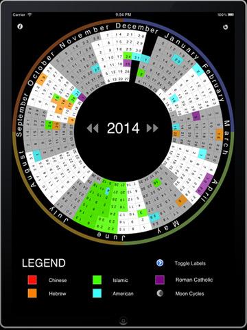 Ultimate Calendar with World Holidays screenshot 4