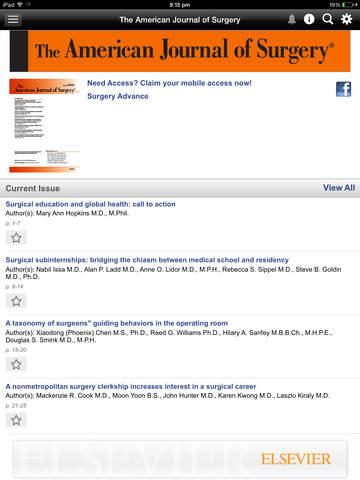 American Journal of Surgery screenshot 9