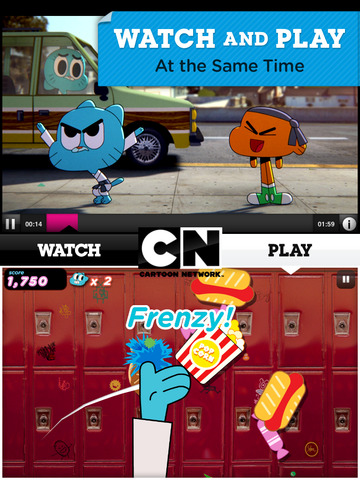 Cartoon Network App screenshot #1