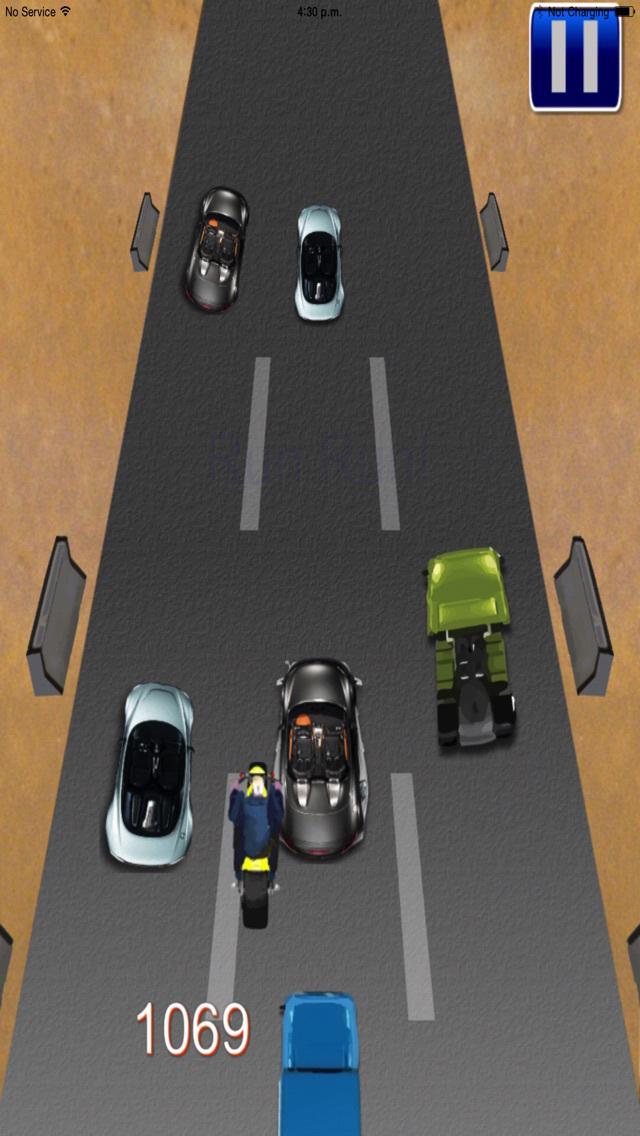 Moto Driver Sport PRO screenshot 2