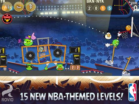 Angry Birds Seasons HD screenshot 2