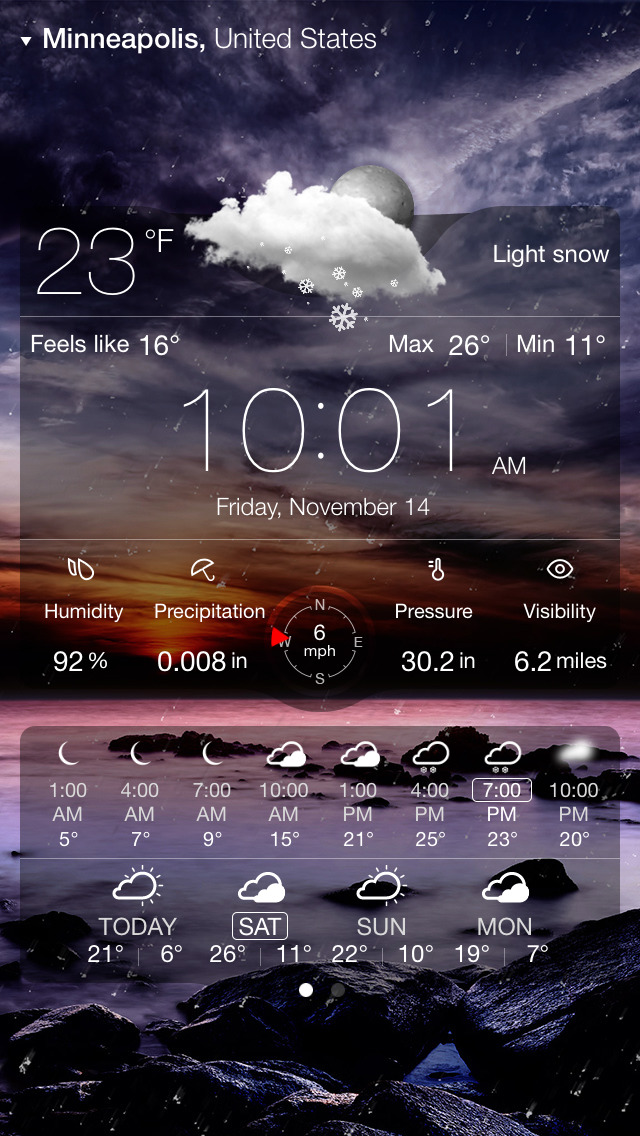 Weather Live゜ screenshot 4