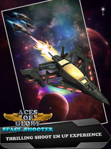 Aces of Glory in Galaxy - Defying Gravity and Targeting Alien Planet screenshot 6