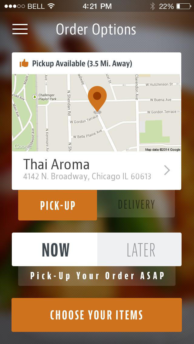 Thai Aroma screenshot 2