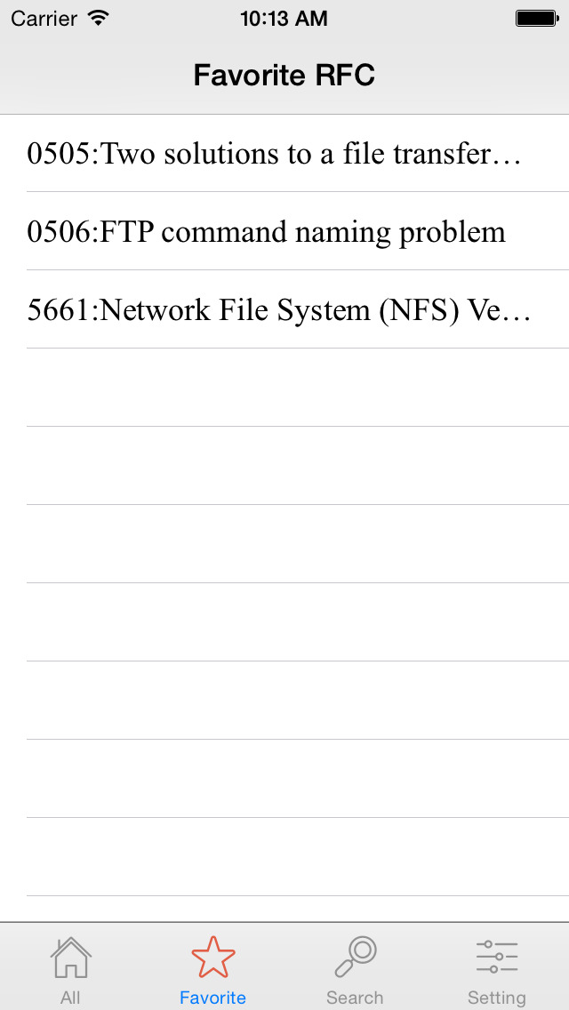 RFCReader Pro screenshot 5