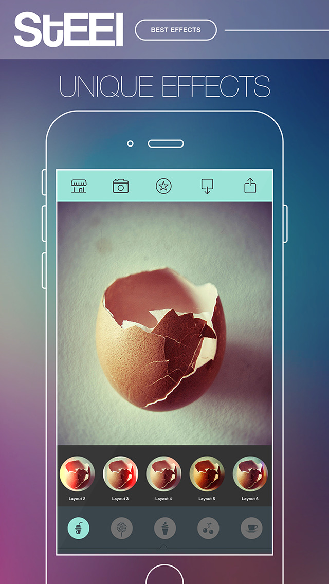 STEEL Camera - Best Photo Editor and Stylish Camera Filters Effects screenshot 4