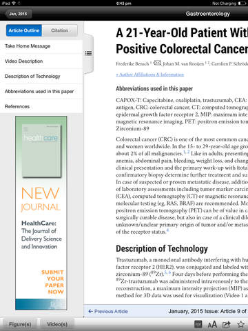 Gastroenterology Journal screenshot 7
