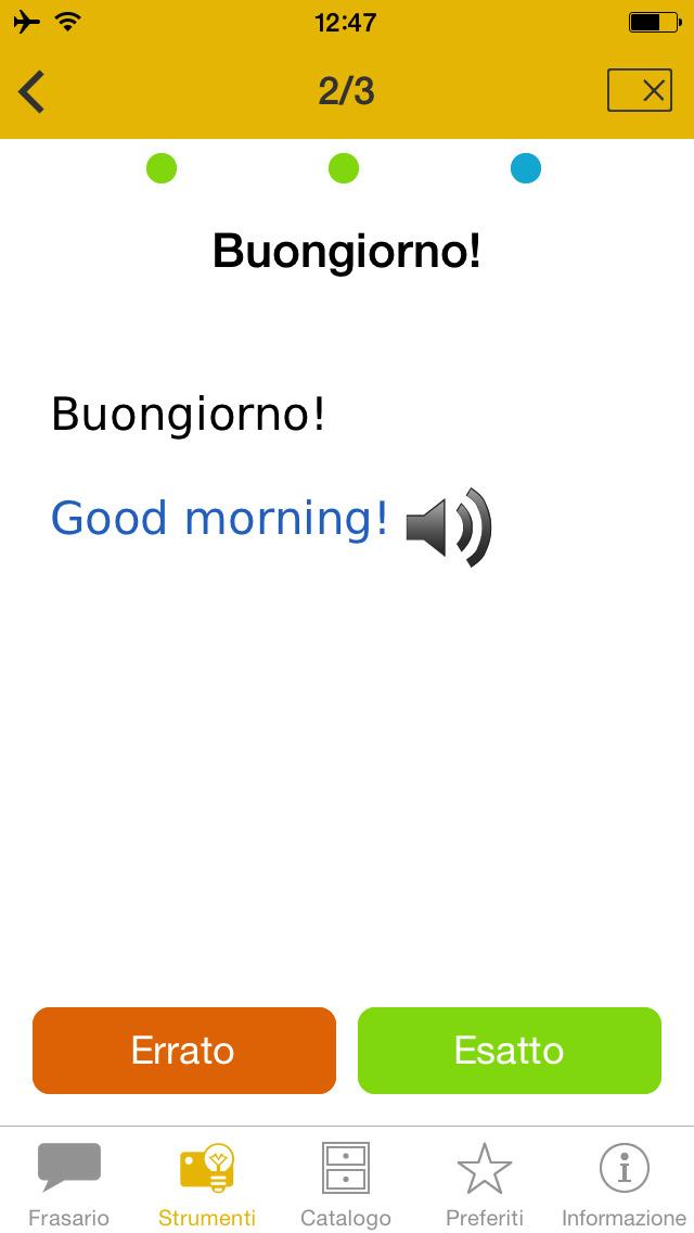 viaggio&parlo – Mondadori Langenscheidt frasario multilingue con audio screenshot 5