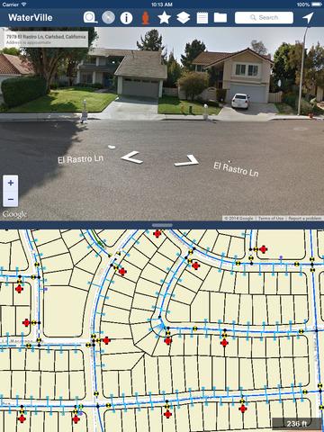 GeoViewer Mobile - náhled