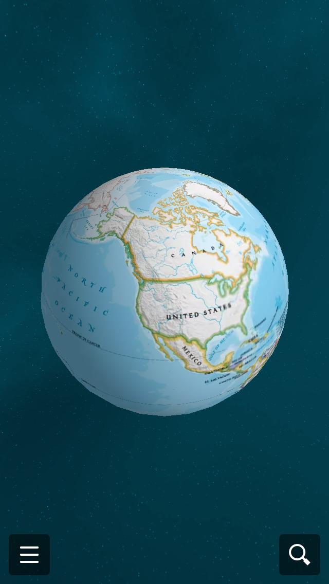National Geographic World Atlas screenshot 1