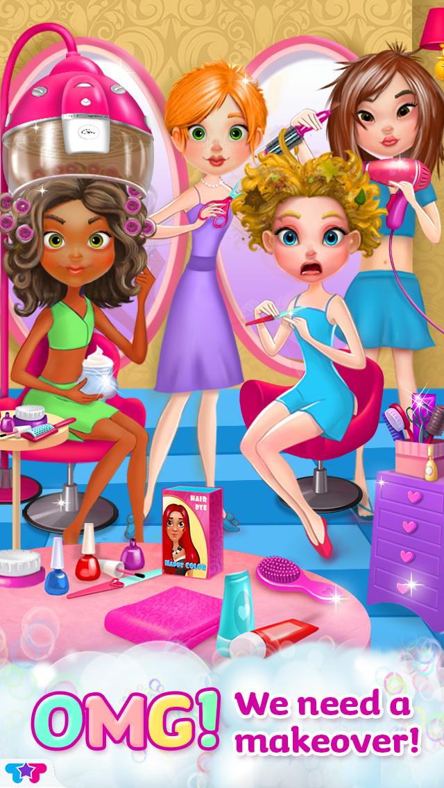 Crazy Hair Salon Makeover screenshot 2