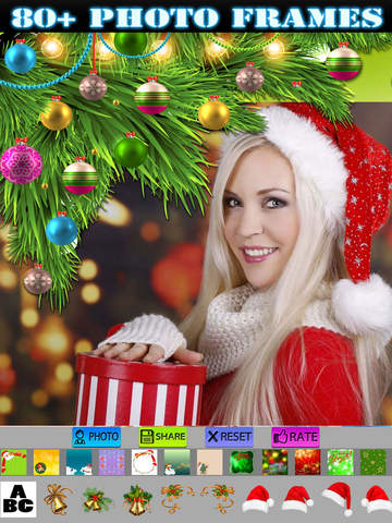 Xmas Frames and Stickers HD screenshot 6
