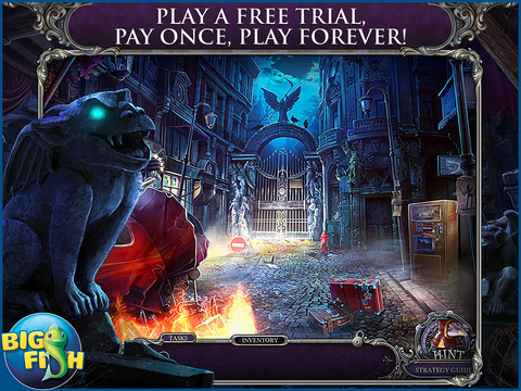 Mystery Trackers: Blackrow's Secret HD - A Hidden Object Detective Game screenshot 1