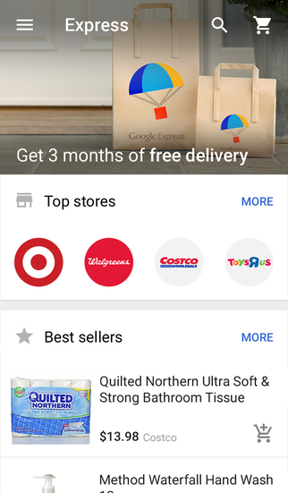 Google Shopping screenshot 2