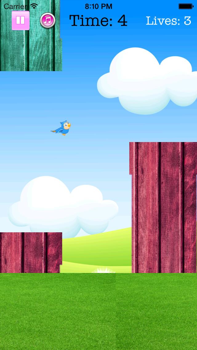 Fly Birdie - One touch branch jump screenshot 4