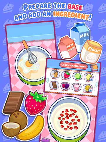 My Cake Maker - Create, Decorate and Eat Sweet Cakes screenshot #2